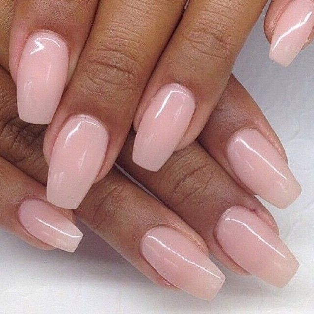 nude coffin nails n gel pinterest nagelschere fingern gel und nageldesign. Black Bedroom Furniture Sets. Home Design Ideas