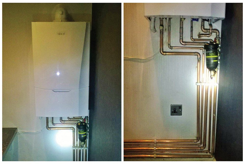 Our team was in #Dore yesterday installing an #Ideal Vogue boiler. Vogues are a premium range boiler but at a fantastic price.  See more: http://www.bigboilershop.co.uk