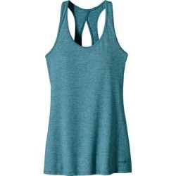 Patagonia Layering Racerback Tank Top - Women's Tobago Blue, L - product - Product Review