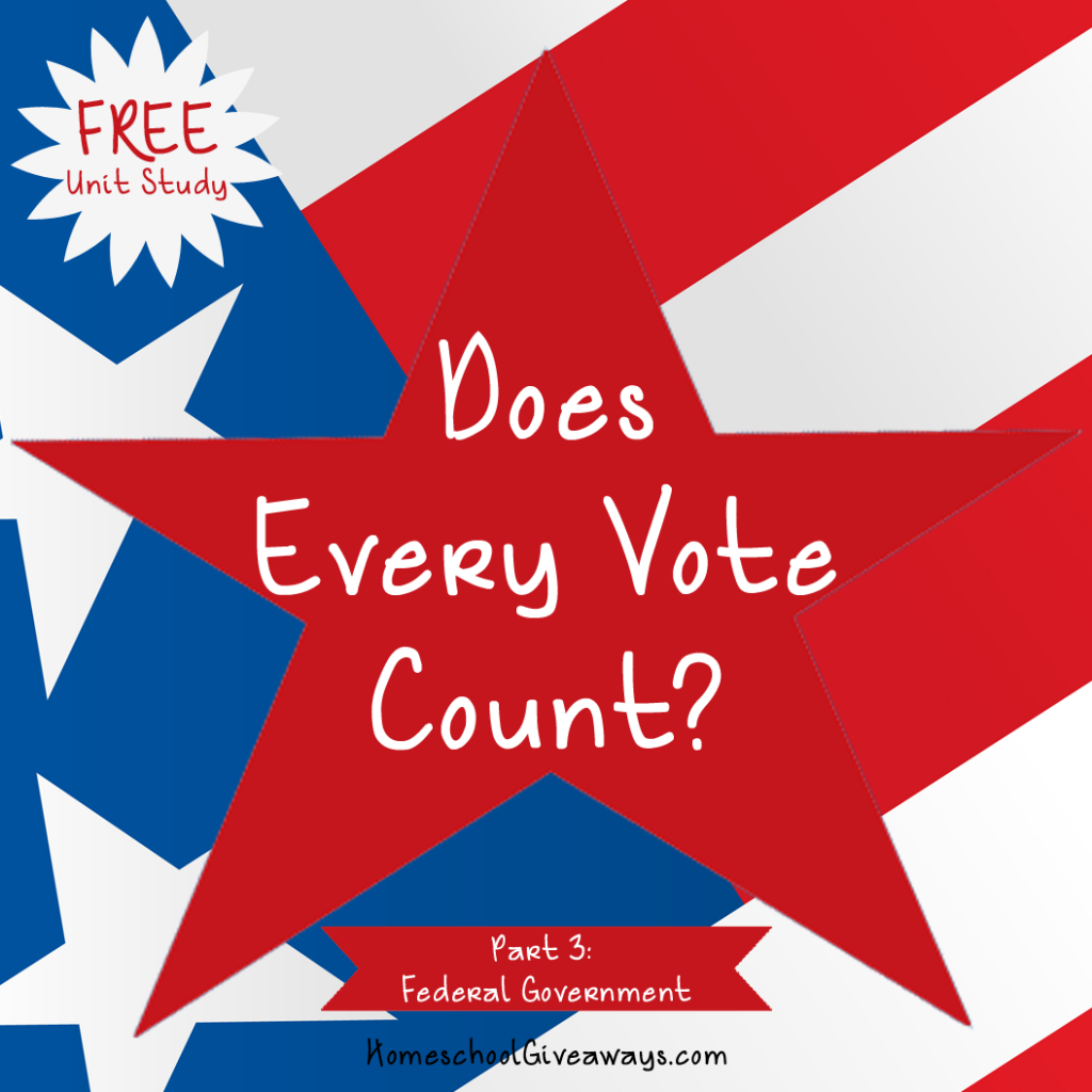 Does Every Vote Count Part Three Federal Government