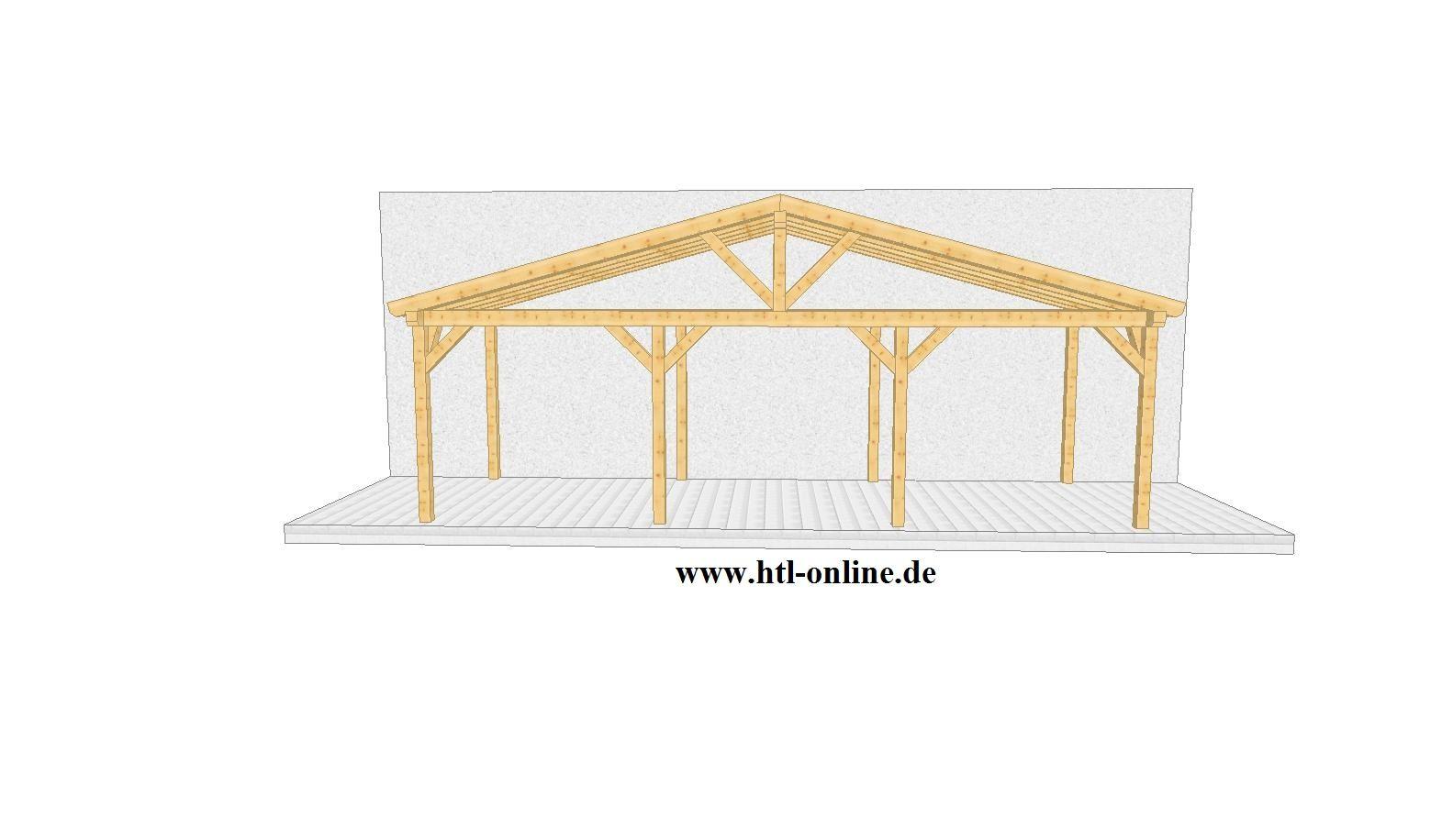 Uberdachung Aus Holz Htl Holztechnik Holz Arbeit Mit Holz Uberdachung Aus Holz Carport Selber Bauen Uberdachung Holz Carport Holz