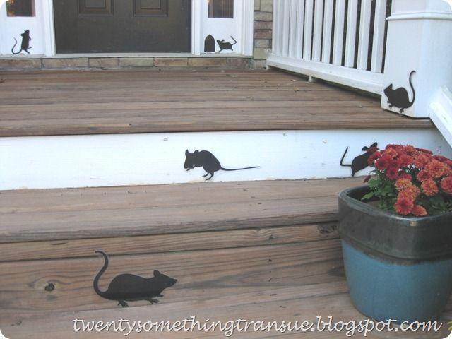 Martha Stewart Halloween Mice for Stairs Holiday Ideas Pinterest - martha stewart halloween ideas