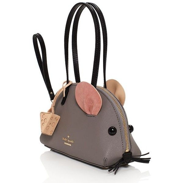 6bc7cb11f40d Kate Spade Cat s Meow Mouse Bag ( 278) ❤ liked on Polyvore featuring bags