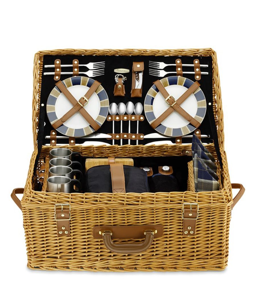 Holiday gifts for the food lover: Williams-Sonoma Wicker picnic basket
