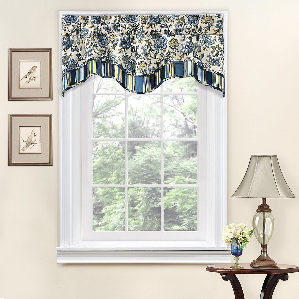 Cheap window coverings  traditions by waverly navarra valance  valances  pinterest