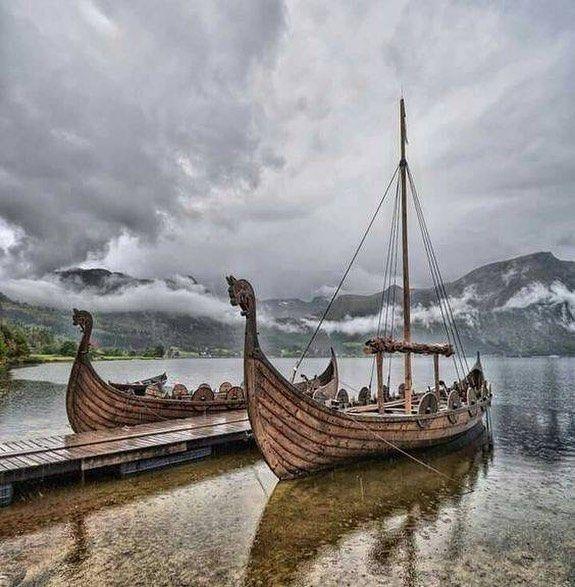 Pin By Ramiro Tome On Fire Pit In 2020 Viking Ship Norwegian Vikings Viking Village