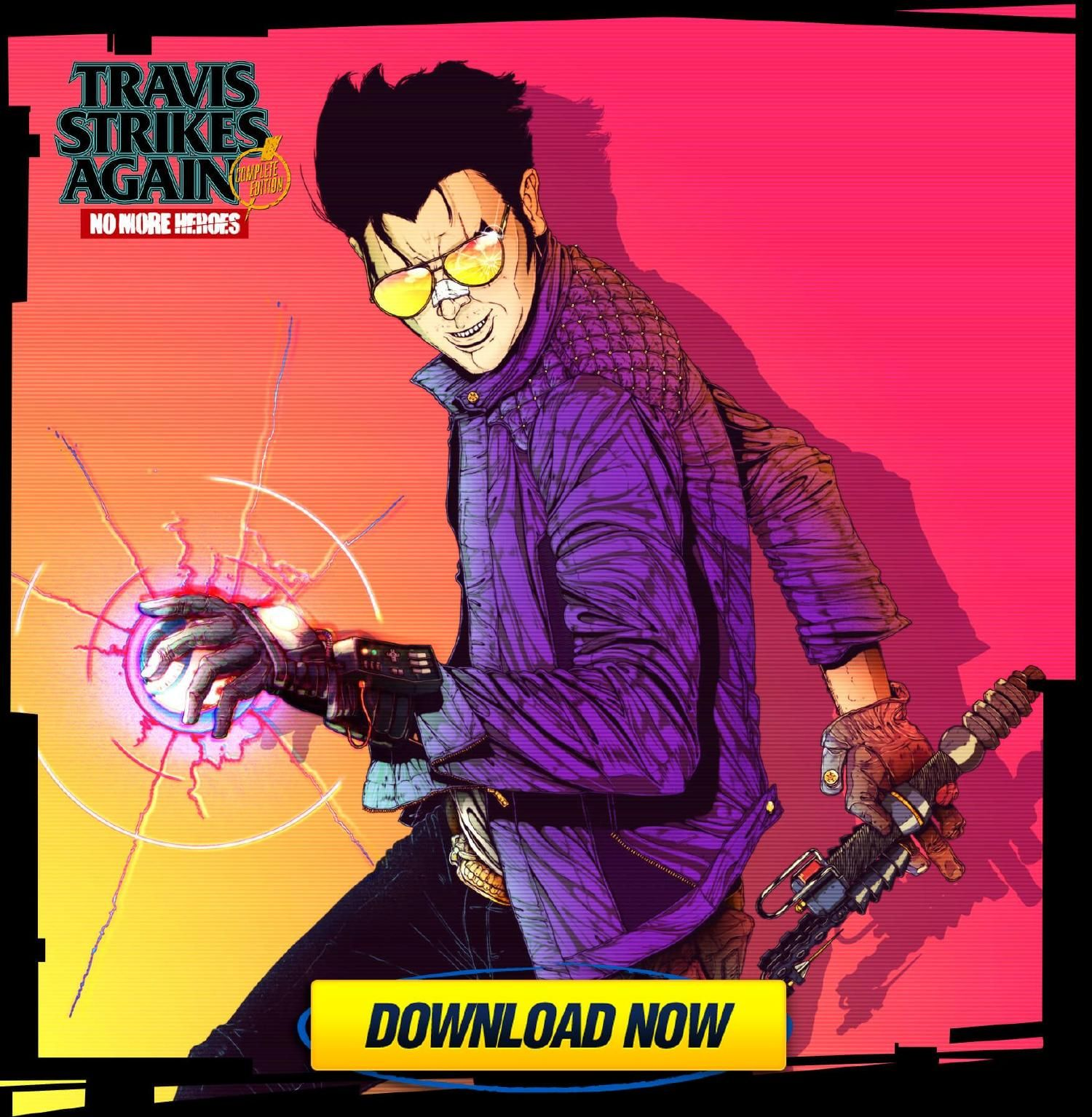 Travis Strikes Again No More Heroes Complete Edition PC