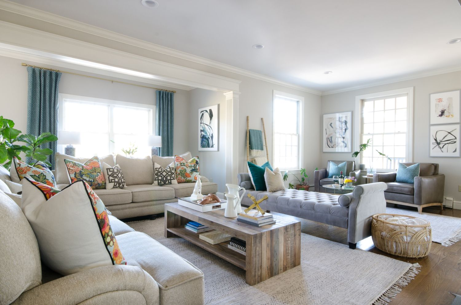 family room makeover reveal family room decorating 73 Layout In Decoration And Family Room id=86284