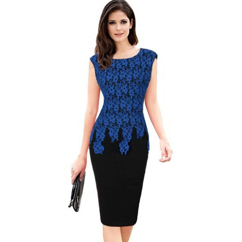 Elegant Vintage Lace Work Office Bodycon Dress Inspirational Clothing And Accessories Bodycon Dress Dresses For Work Bodycon Dress Casual [ 1000 x 1000 Pixel ]