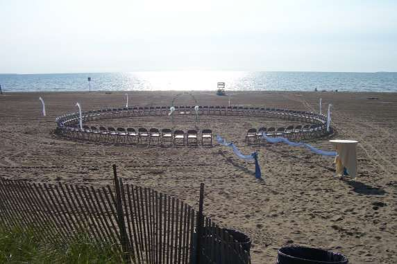 This is hopefully going to be where the marriage ceremony would be :) Woodlawn Beach