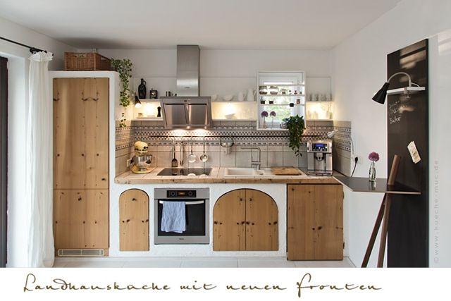 Küche im Landhausstil modernisieren - neue Haushaltsgeräte ...