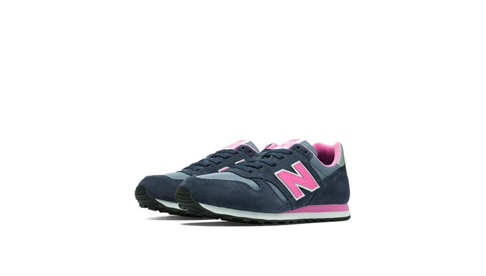 new balance 373 navy and pink