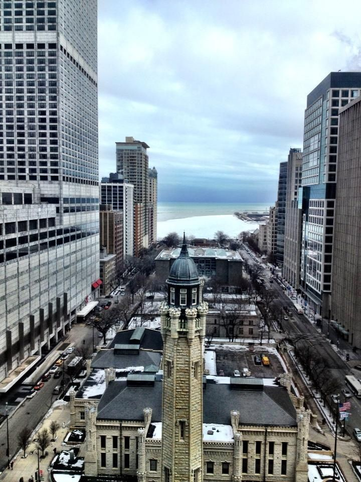 Park Hyatt Chicago Water Tower View 18th Floor I Recommend Paying Extra For The It S Worth High End Businessy Hotel Best Location Smack Dab