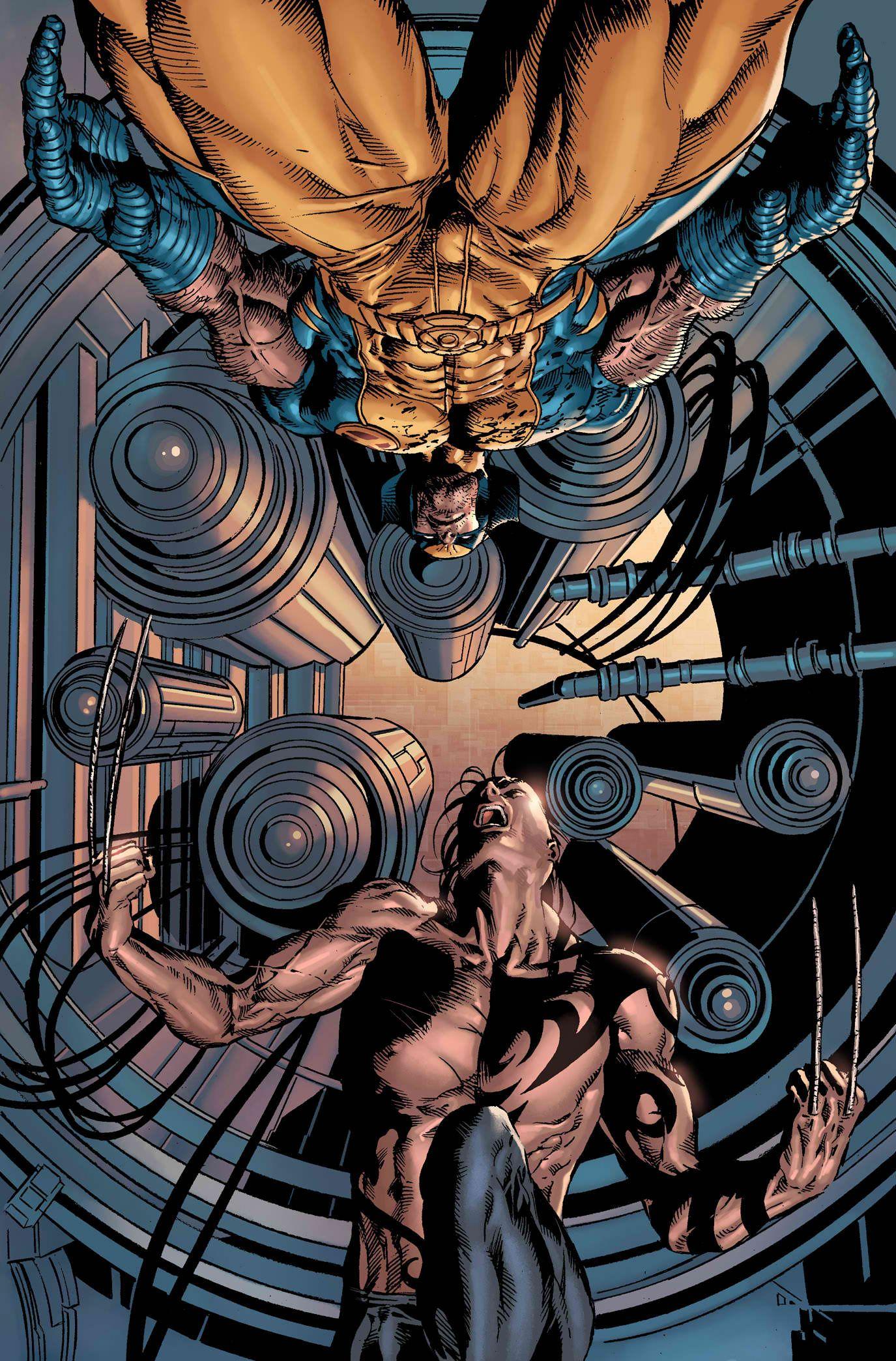 Wolverine vs. Daken by Mike Deadato Jr.