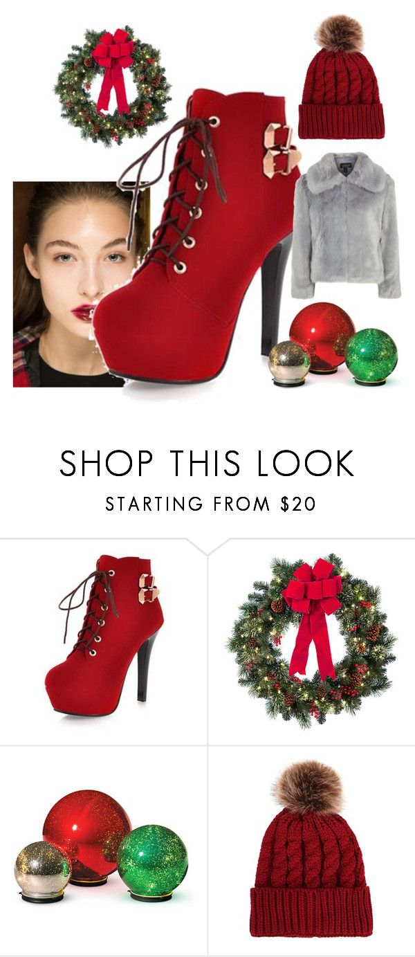 """""""Bez naslova #270"""" by skousen ❤ liked on Polyvore featuring Improvements and Topshop"""