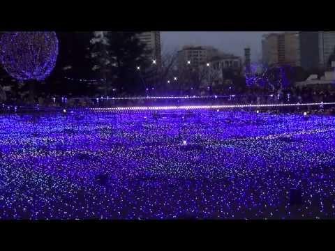 Vlog: Рождество в Японии❤Иллюминация в Tokyo Midtown