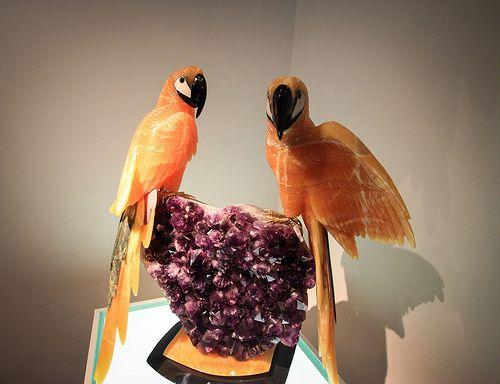 8db79074068 Stone Carved Statues of Brazil Birds at Amsterdam Sauer Gemstone Museum-  Rio de Janeiro