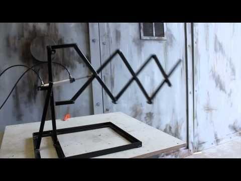 Scissor Mech - Air / Pneumatic Halloween Prop - Halloween FX Props