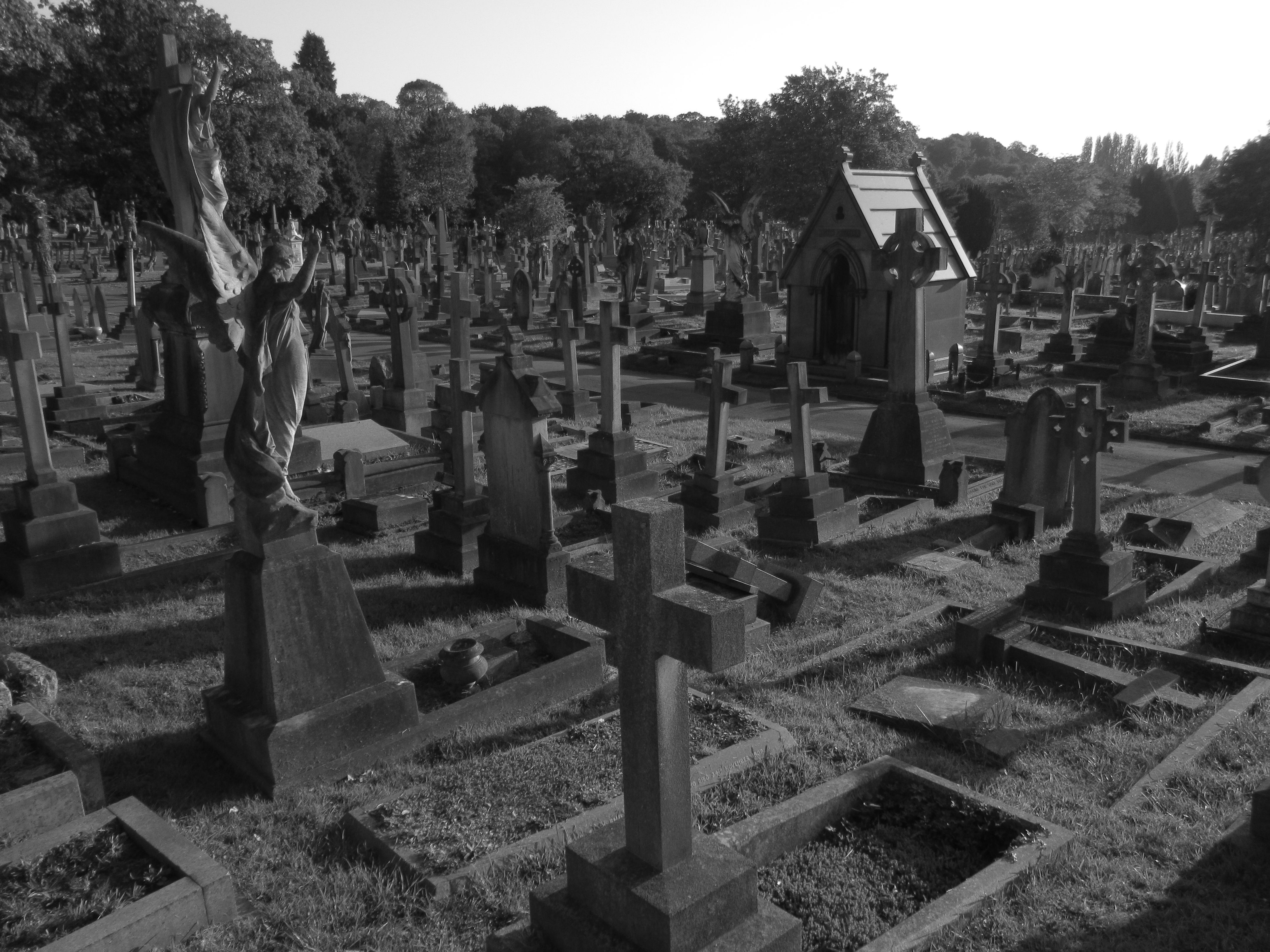Gothic Victorian Graveyards Putney Vale Cemetery