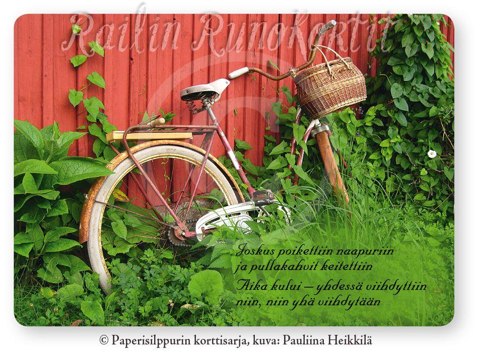 Unohtunut polkupyörä, Railin Runokortti