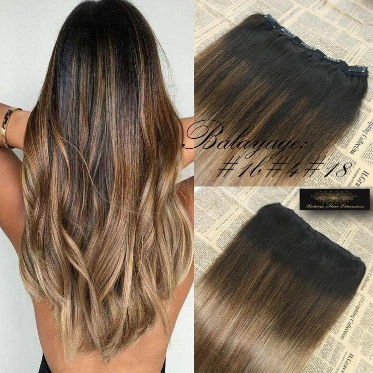 Victoria Hair Extensions Balayage hair, Clip in hair