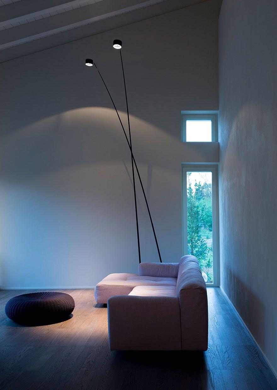 Lampa podłogowa SAMPEI, Davide Groppi Illuminazione