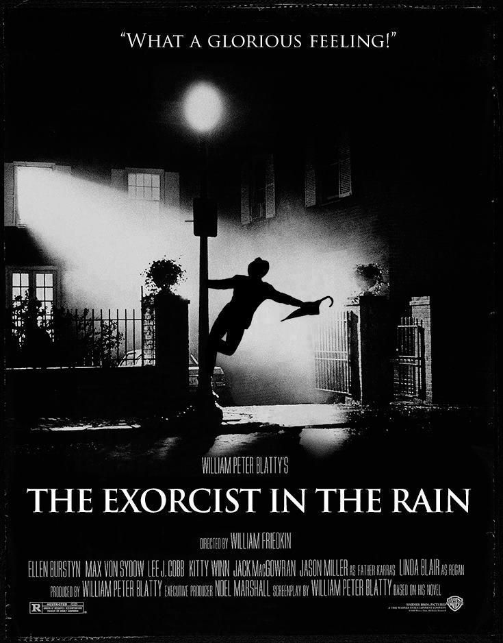 The exorcist in the rain