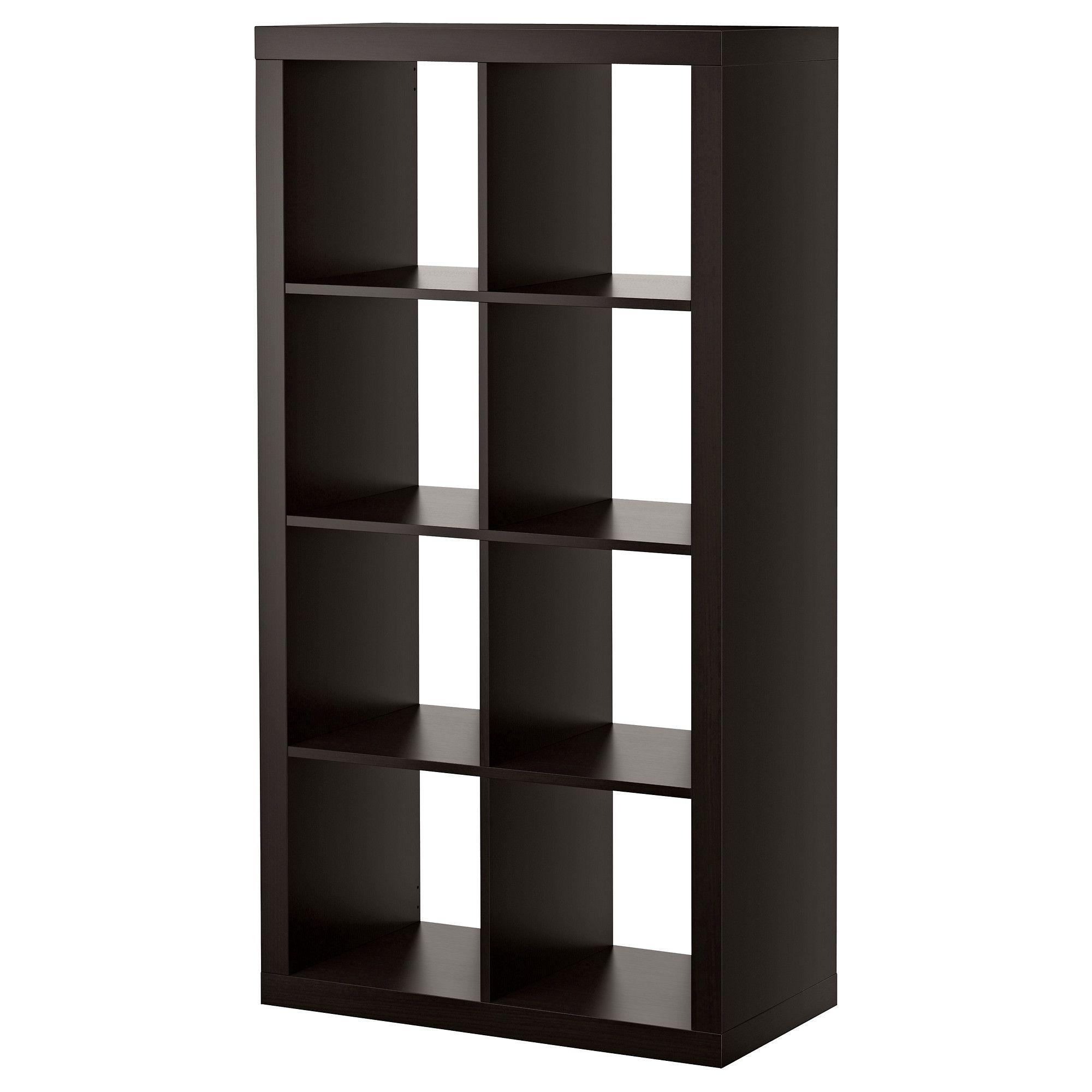 Bücherregal ikea braun  EXPEDIT Regal - schwarzbraun - IKEA 59 EUR Produktmaße Breite: 79 ...
