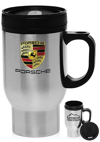 TM245 16 oz  Stainless Steel Personalized Travel Mugs