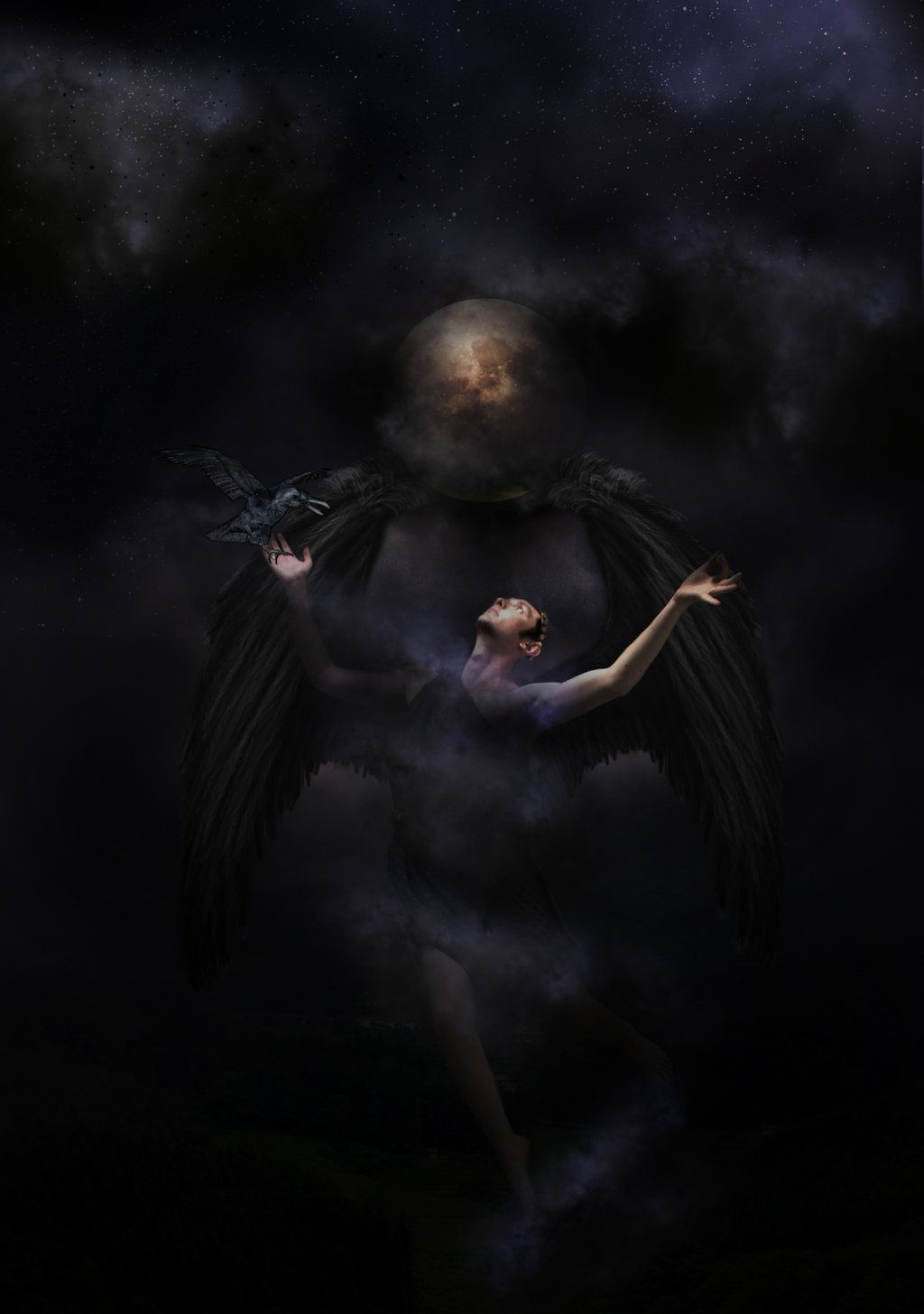 Image Result For Erebus Greek God Of Darkness And Shadow