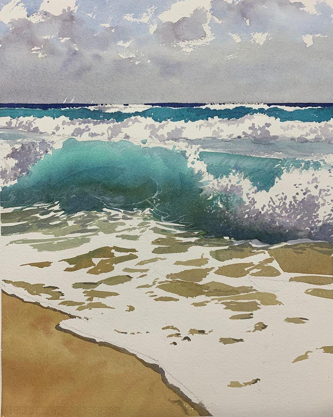 Szczepan Urbanowicz Artist On Instagram Today S Seascape