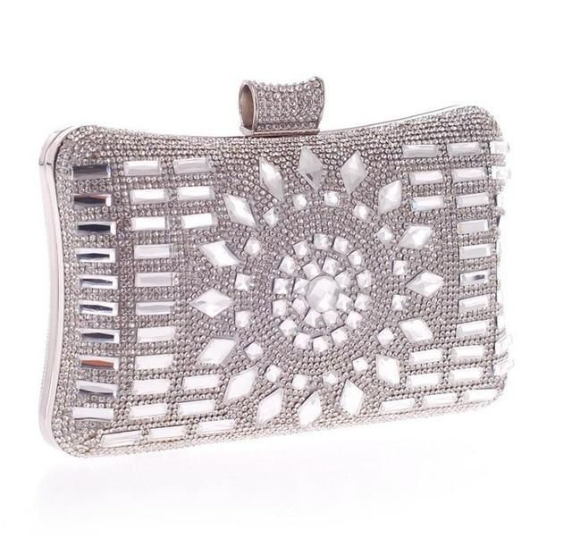 a9ab40c8ef6d Luxe Adornment Clutch Purse