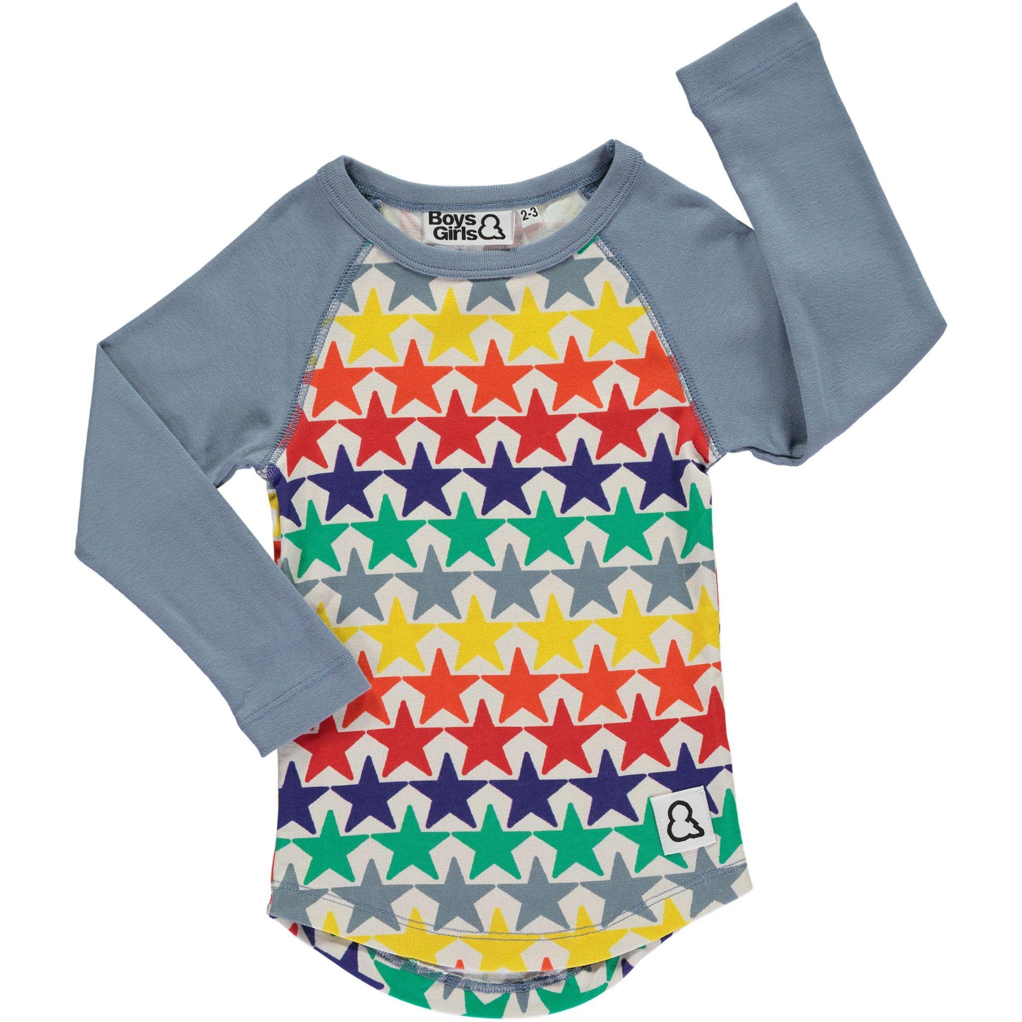 Bright Stars Raglan Baseball Shirt by Boys & Girls Shop an edgy