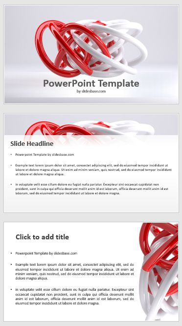 Need Some Abstract Design Here S A 3d Powerpoint Template With An
