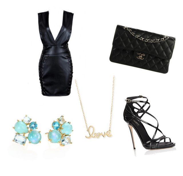 """""""12"""" by eminblazevic on Polyvore featuring Dolce&Gabbana, Chanel, Sydney Evan and Ippolita"""