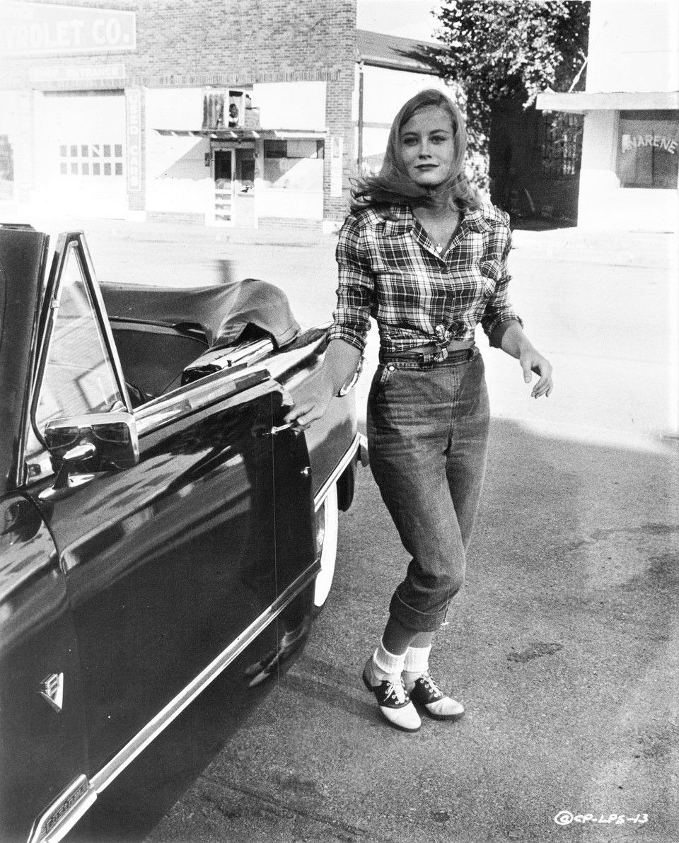 """hollywood-portraits: """" Cybill Shepherd in The Last Picture ..."""
