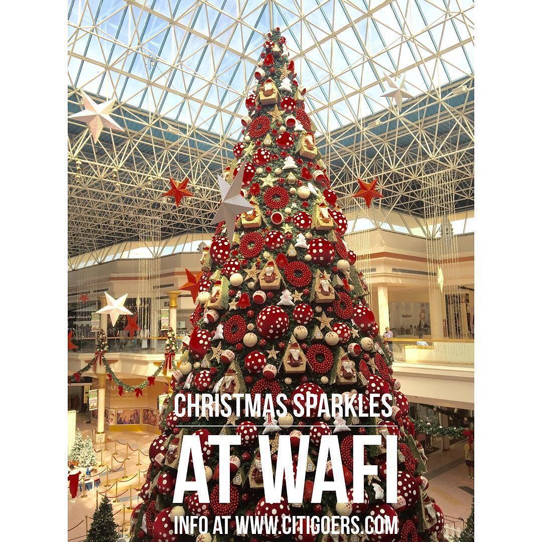Citigoers Uae On Instagram The Best Christmas Tree In Dubai Is At Wafi Mall Enjoy The Festive Spirit Santa S Grott Cool Christmas Trees Christmas Tree Tree
