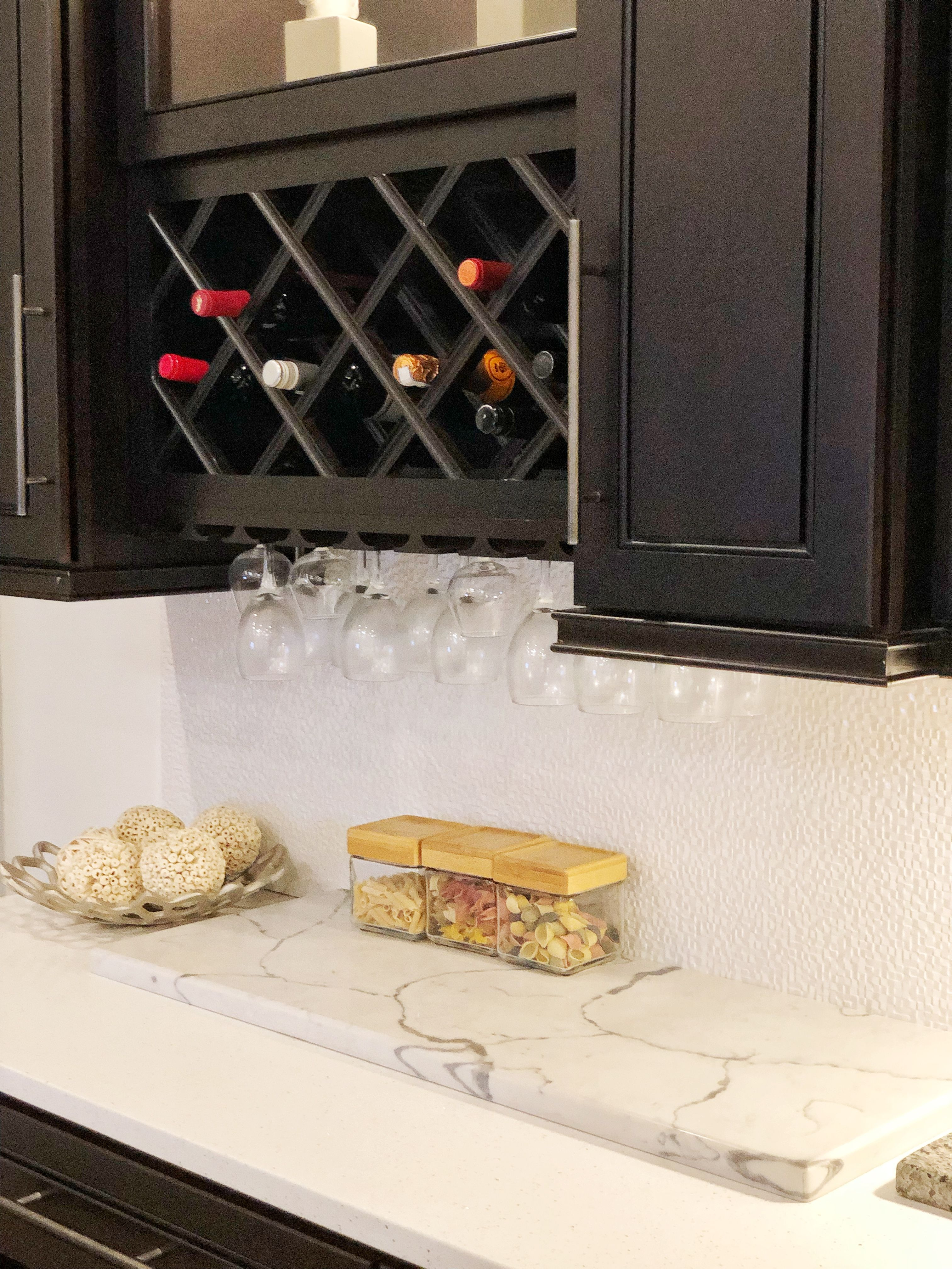 Home Cabinet Westbury K8 Style Kitchen Add On Wine Rack And Glass Rack Wine Decor Kitchen Kitchen Wine Rack Wine Rack