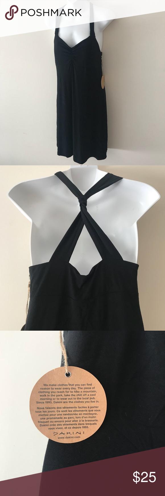 Dakini Black Stretchy Summer Dress W Built In Bra Fashion Clothes Design Fashion Design [ 1740 x 580 Pixel ]