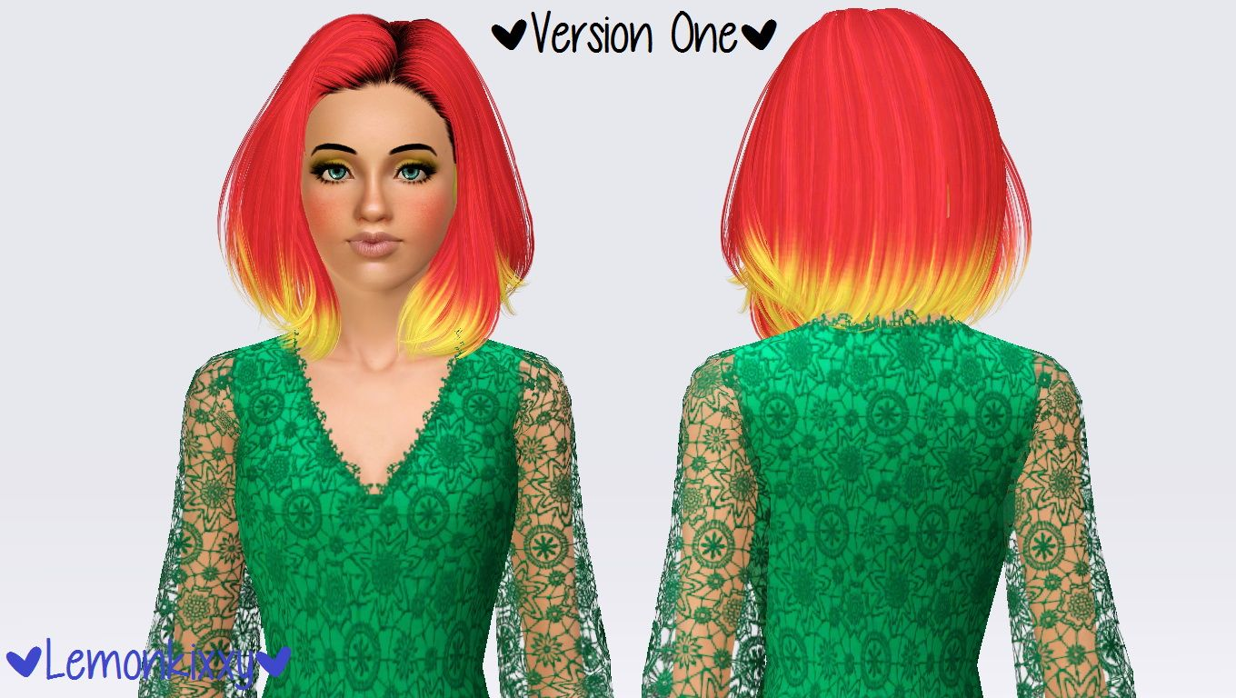 Skysims 242 hairstyle retextured by Lemonkixxy`s Lair for Sims 3 - Sims Hairs - http://simshairs.com/skysims-242-hairstyle-retextured-by-lemonkixxys-lair/