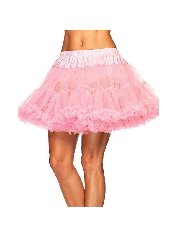 Undergarments 8990XPLA Plus Size Pink Petticoat - Plus Size Pink Petticoat,    #,    #Accessories