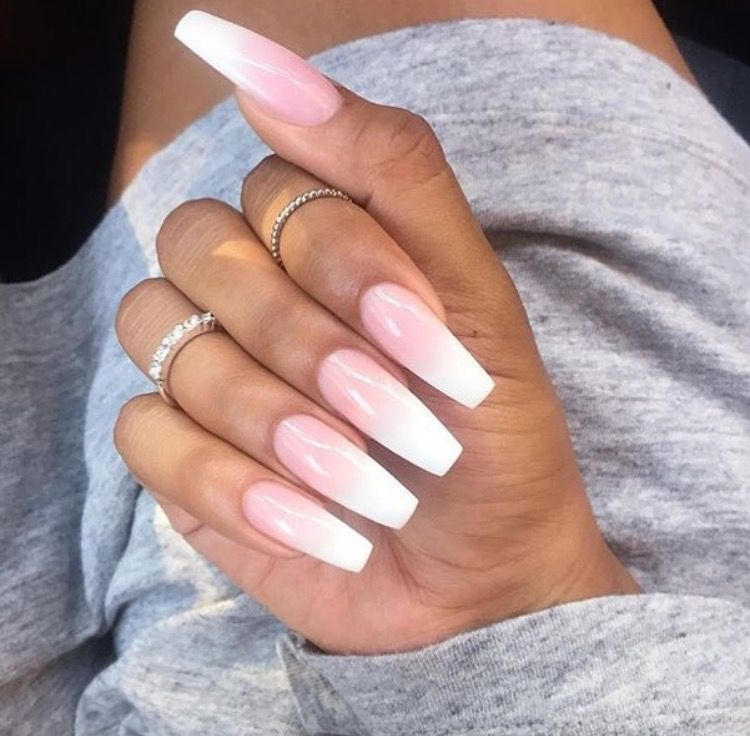 Faded nails   Nailssss   Pinterest   Faded nails and Makeup