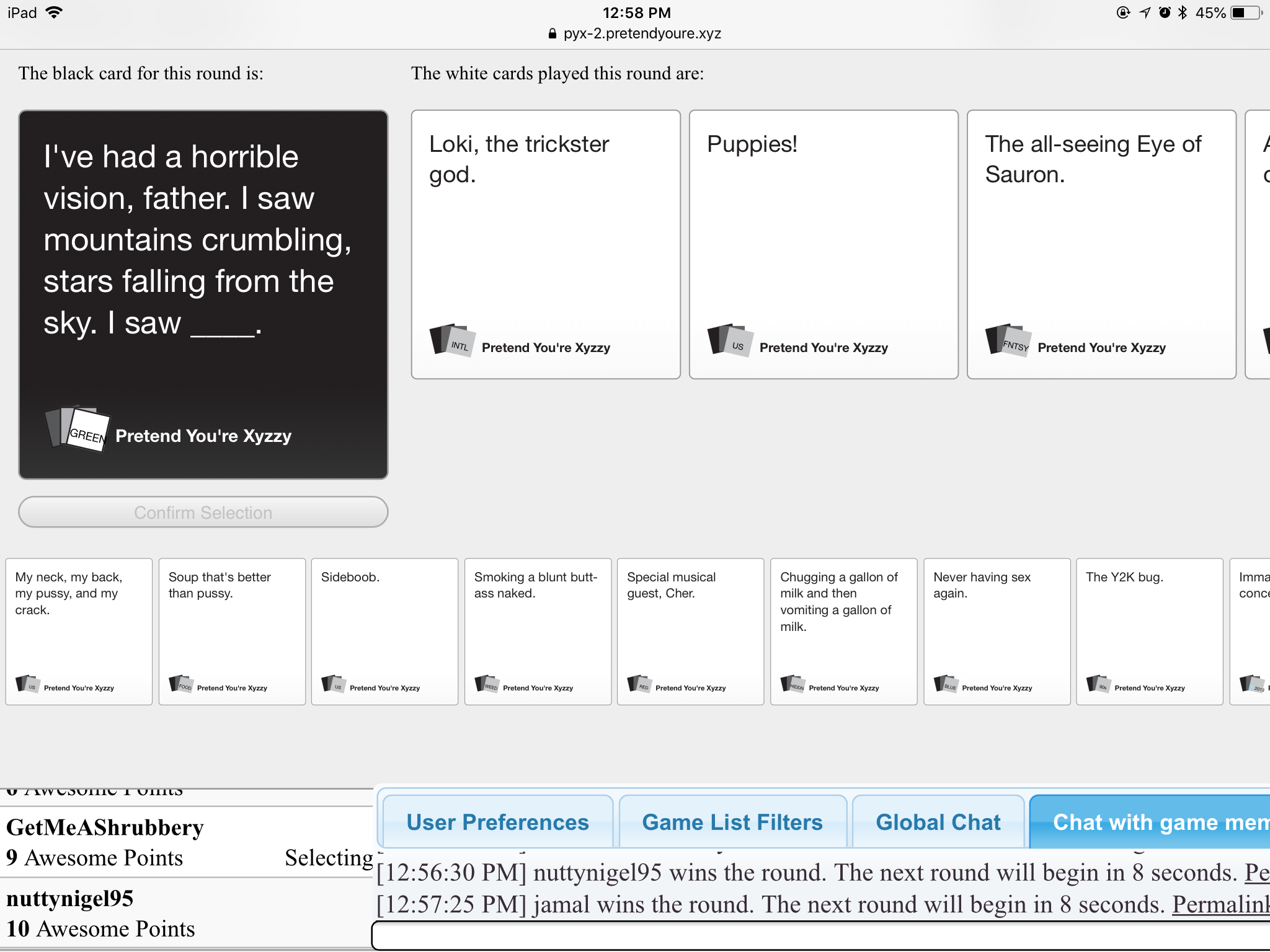 Pin By Megapixel98 On My Real Cards Against Humanity Games Humanity Game Black Card Cards Against Humanity