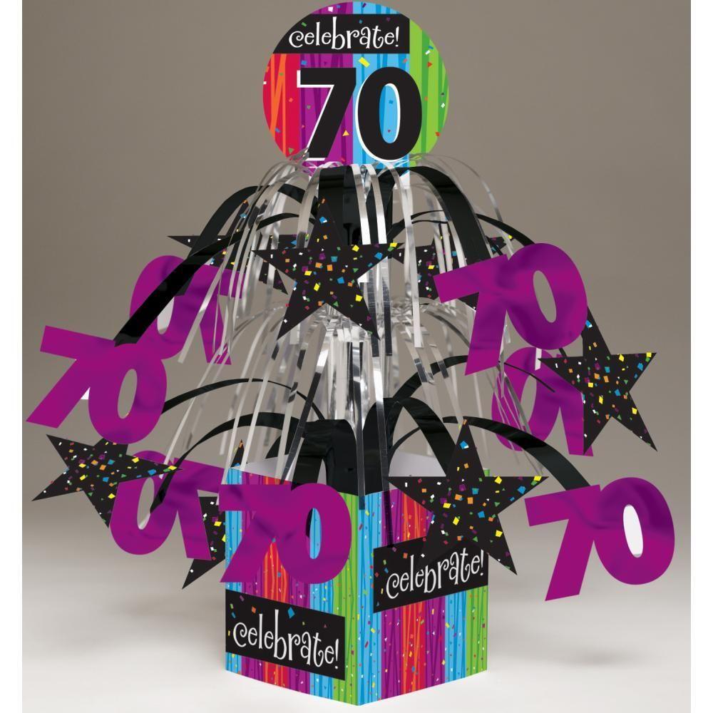 Milestone Celebration 90th Birthday Mini Cascade Centerpiece Party Decoration