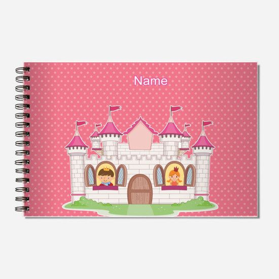 A #Creative #Personalized_Sketchbook for girls who have a knack for #Art_Craft www.mydoodlez.com