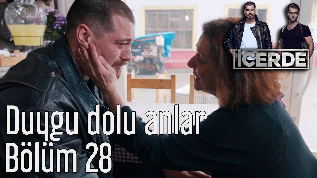 Icerde 28 Bolum Duygu Dolu Anlar Cagatay Ulusoy Youtube Video