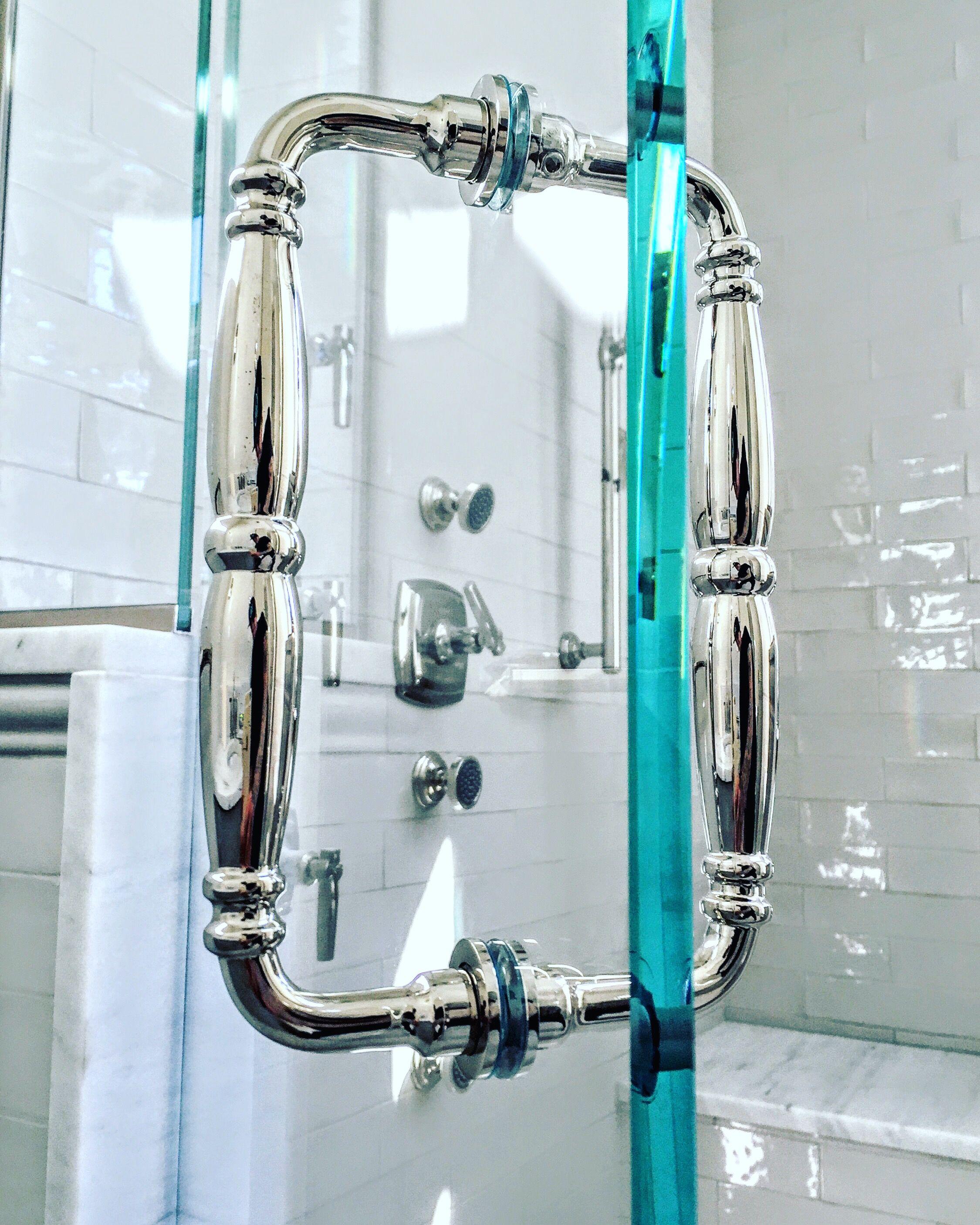 Victorian Shower Door Handle Give Your Shower Glass Door That Luxury Look Www Ultimateglassart Com Shower Door Handles Glass Shower Victorian Shower Doors