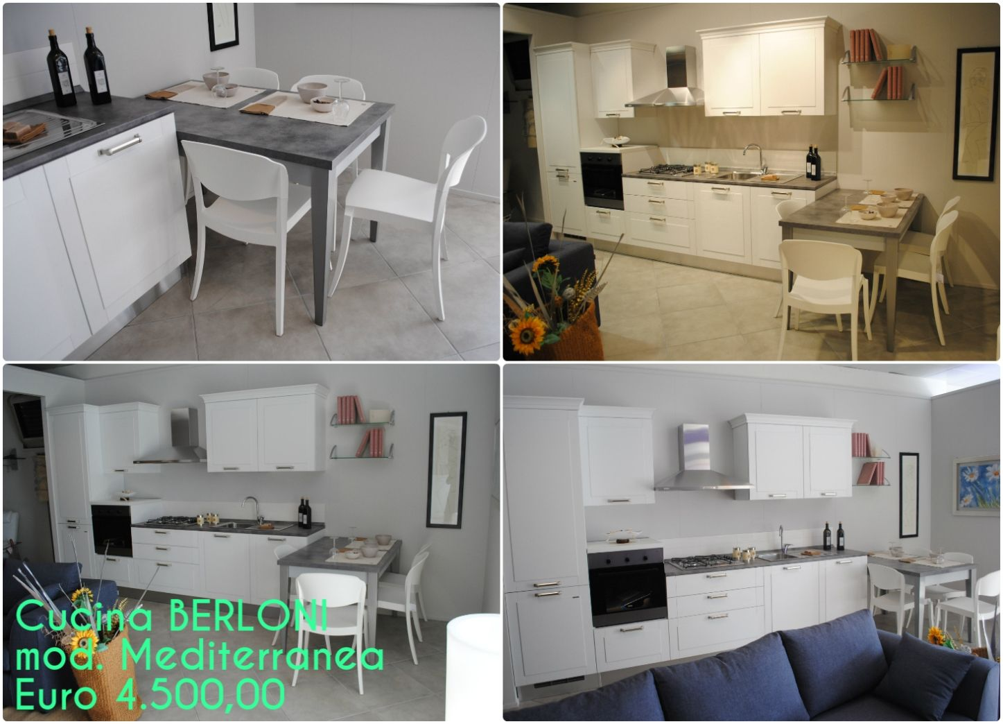 Cucina BERLONI mod. Mediterranea a 4.500,00 euro | Dining ...