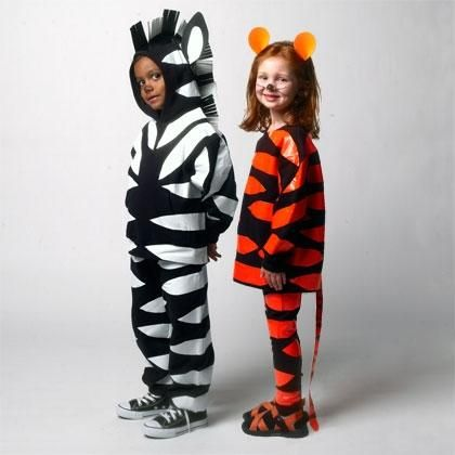 DIY Halloween DIY Costumes DIY Animal Costume  DIY Halloween craft Tiger and Zebra Costumes  sc 1 st  Pinterest & DIY Halloween DIY Costumes :DIY Animal Costume : DIY Halloween craft ...