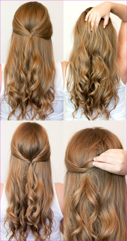 40 Cute Hairstyles Step By Step Tutorials For Long Hair Lengthy Voluminous Bou Heatless Hairstyles Casual Hairstyles For Long Hair Easy Hairstyles For School